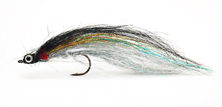Fulling Mill Streamer - Tinsel Town Silver 4/0