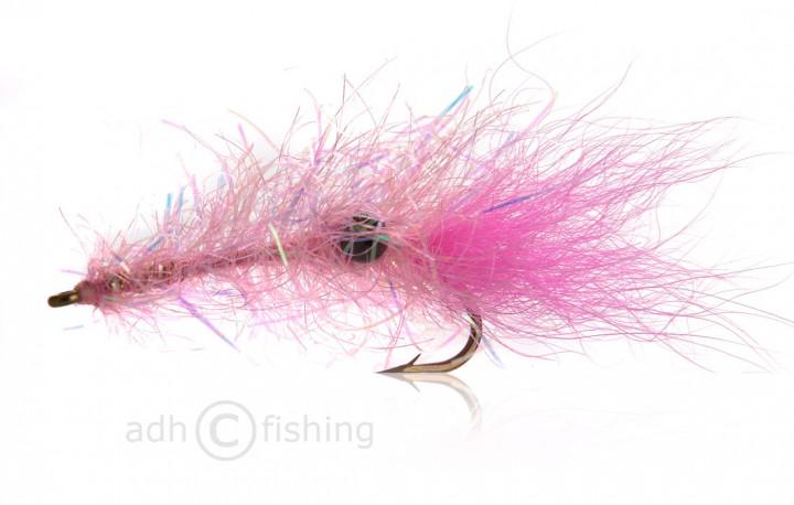 Meerforellenfliege Chenille Rejen Pink