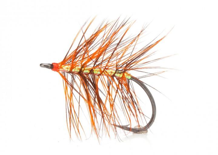Meerforellenfliege Sveveren Burned Orange