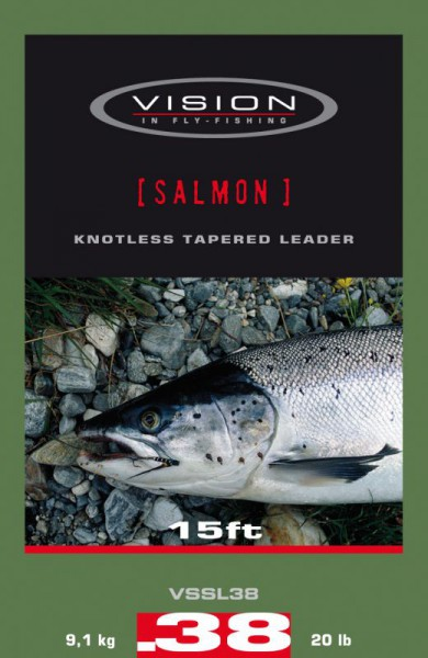 Vision Salmon & Seatrout Leader 15 ft