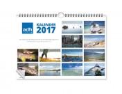 adh-fishing Fliegenfischer-Wandkalender 2017