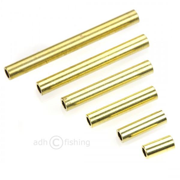 adh-fishing US Tubes Zylinder Tubensystem für Tubenfliegen Gold
