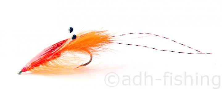 Meerforellenfliege A.Jensen - Agerskov Mallard Shrimp Orange