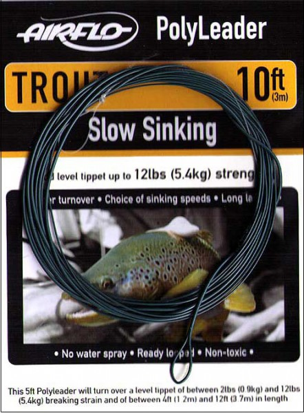 Airflo Trout Polyleader 10 ft