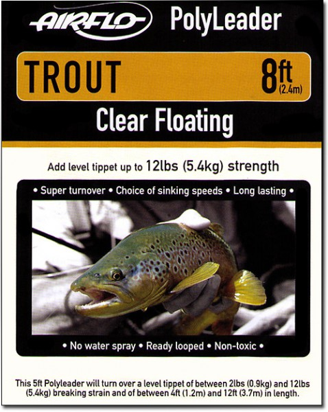 Airflo Trout Polyleader 8 ft