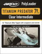 Airflo Titanium Predator Polyleader Clear Intermediate
