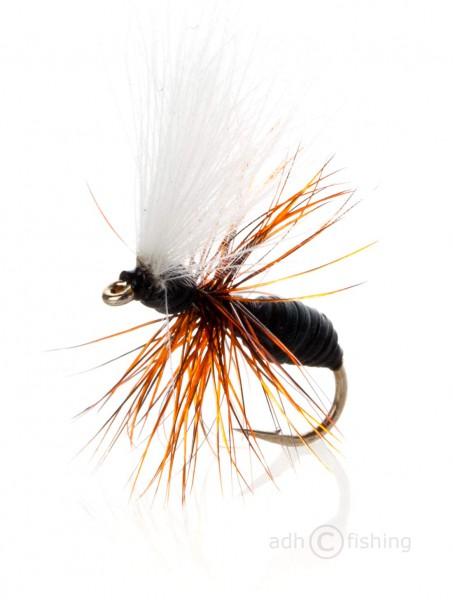Fulling Mill Trockenfliege - AK CDC Ant Black
