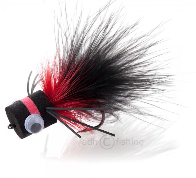 Popper Bass Banger black/red