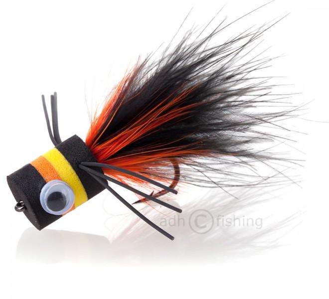 Popper Bass Banger black/orange