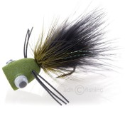 Popper Bass Popping Bug black/olive