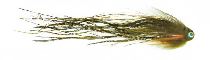 Bauer Pike Tube Hechttubenfliege Sheep Head Bleeding Perch 513