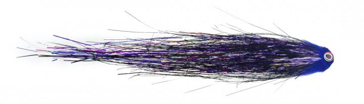 Bauer Pike Tube Hechttubenfliege Sheep Head Midnight Black 514