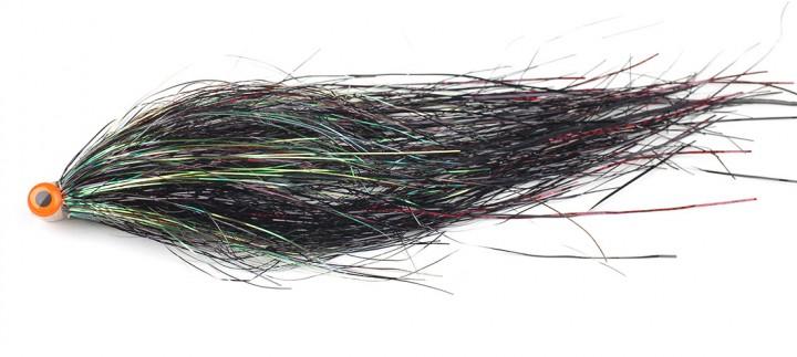 Bauer Pike Tube Hechttubenfliege UV Bleeding Black 522