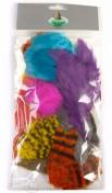 Fly Scene Bird fur Pack gemischte Farben
