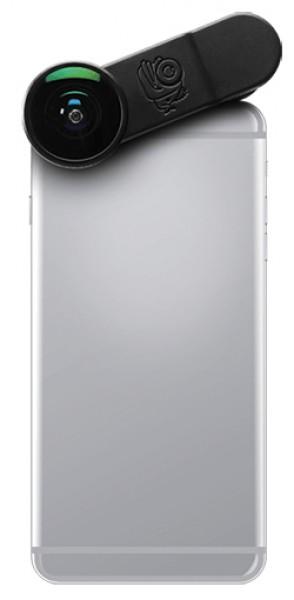 Black Eye Full-Frame Fisheye Lens Fischaugen-Objektiv für Smartphones