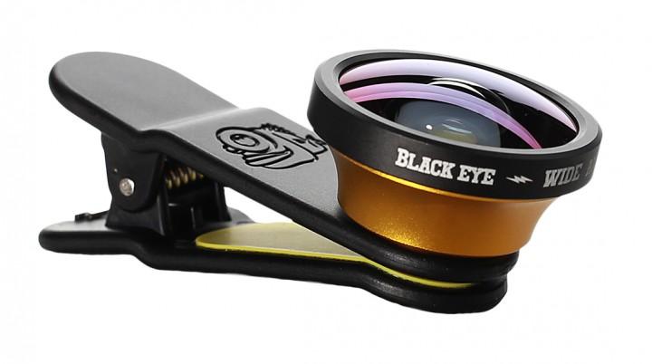 Black Eye Wide Angle Lens Weitwinkel-Objektiv für Smartphones