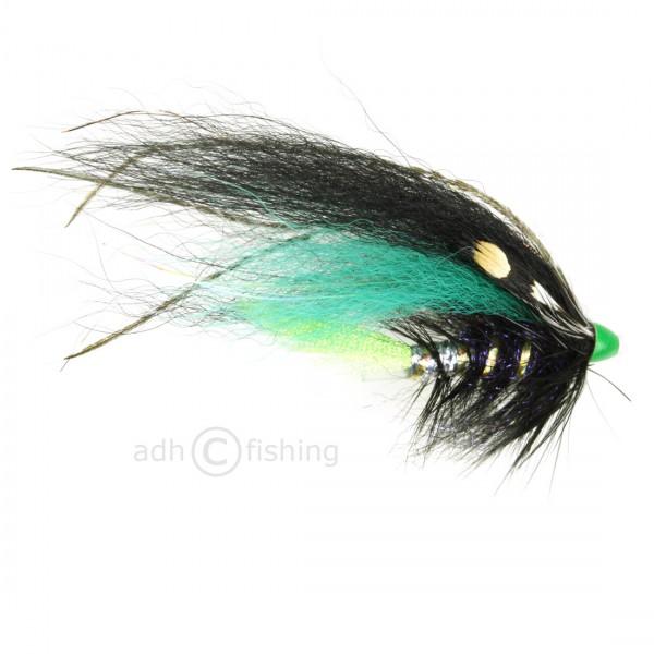 Frödin Flies Tubenfliege - Black and Green Helmet