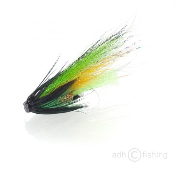 Fulling Mill Tubenfliege - Black and Green Tube unbeschwert