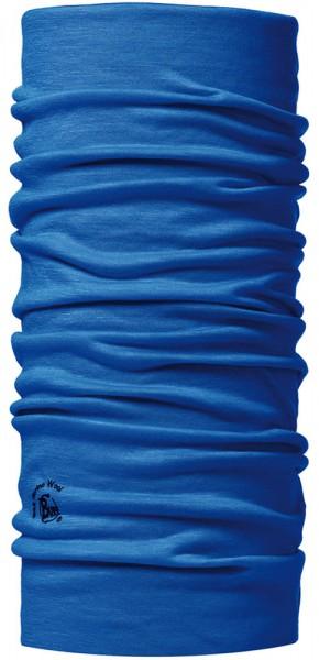 Buff Wool Cobalt Kopf- bzw. Multifunktionstuch