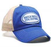 Hatch Vista Trucker Cap royal blue