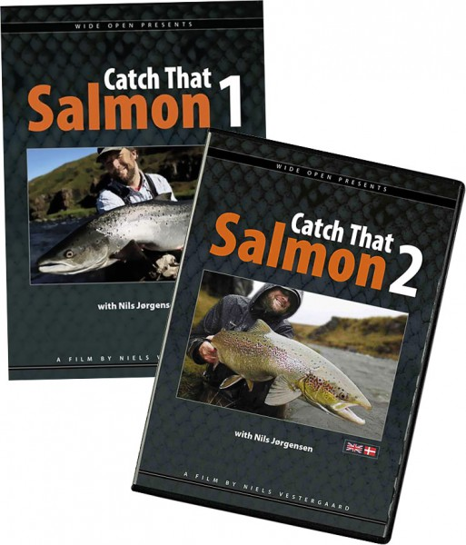 2 DVD's im Set: Catch that Salmon Vol.I + Vol.II