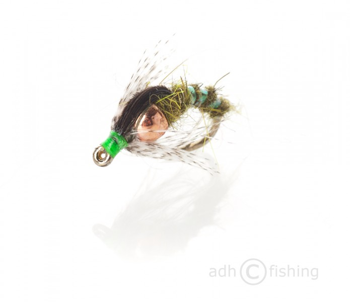 Fulling Mill Nymphe - CJ's Holy grail hare ear olive