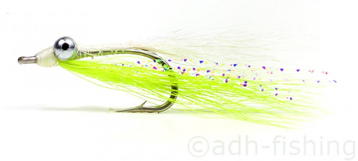 Fulling Mill Clouser Bonefish Chartreuse