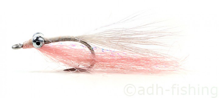 Fulling Mill Clouser Bonefish Pink