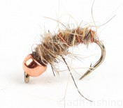 Fulling Mill Nymphe - Copper Bead Hare Ear Bug