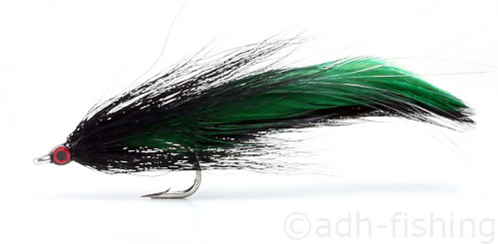 Fulling Mill Streamer - Deceiver black