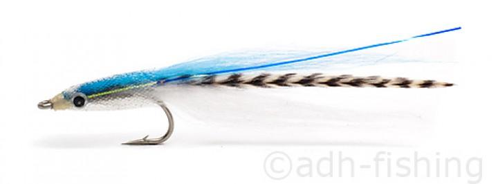 Fulling Mill Meerforellenfliege - E Z Sandeel Blue