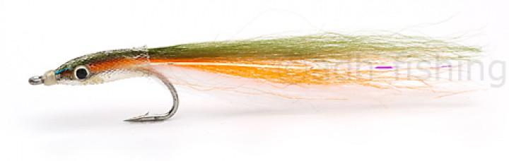 Fulling Mill Meerforellenfliege - E Z Sandeel Olive