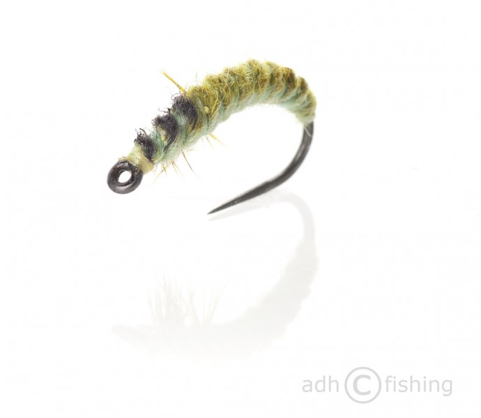 Fulling Mill Nymphe - Oliver Edwards Ryacophila Larva