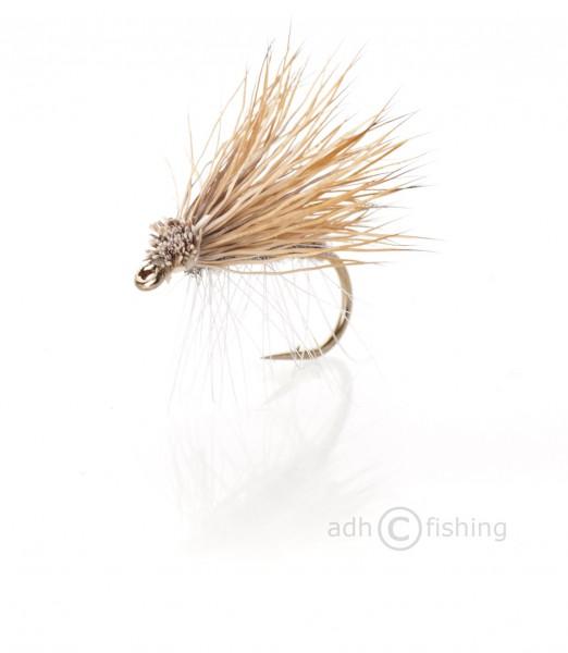 Fulling Mill Trockenfliege - Elkwing Caddis Grey