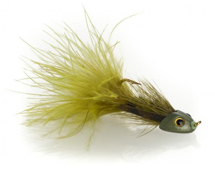 Fish Skull Streamer - Sculpin Bugger oliv