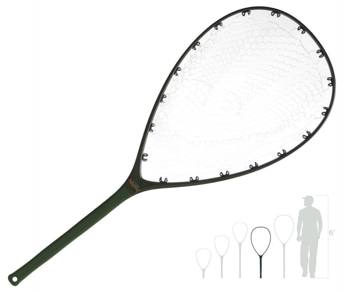 Fishpond Nomad Mid-Length Boat Net Catch & Release Kescher