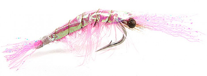 Fulling Mill Meerforellenfliege - Flash back Shrimp pink