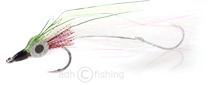 H2O Offshore Streamer - Flashy Profile grün
