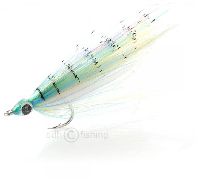 H2O Streamer - Flat n fine Baitfish Green
