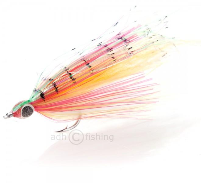 H2O Streamer - Flat n fine Baitfish Red