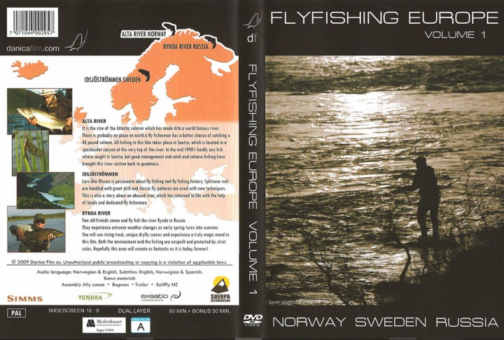 DVD - Flyfishing Europe Volume 1