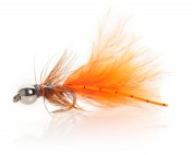 Fulling Mill JW Nymph orange