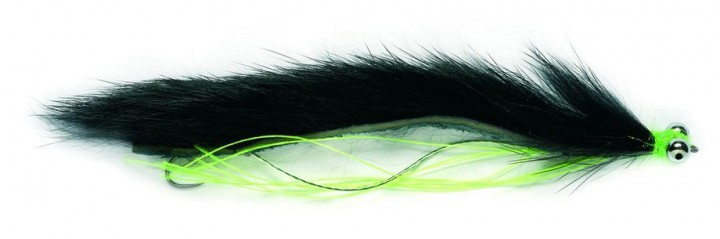 Fulling Mill Streamer - Black Snake Zonker
