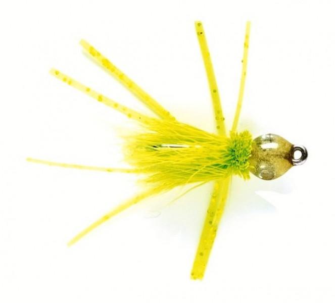 Fulling Mill Salzwasserfliege - Bonefish Bitters chartreuse