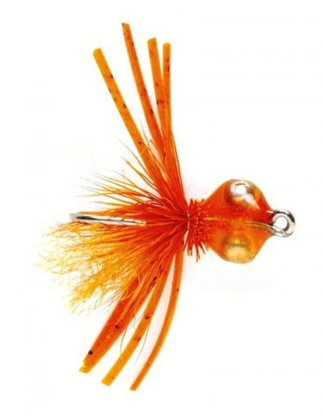Fulling Mill Salzwasserfliege - Bonefish Bitters orange