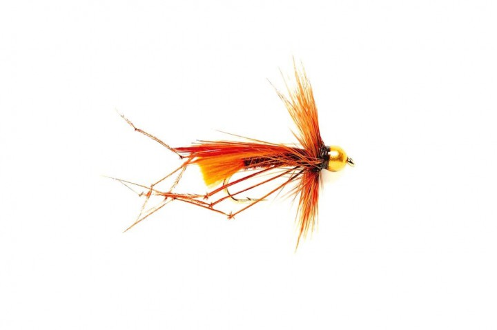 Fulling Mill Nymphe - Daddy (Sinking) Orange Tag