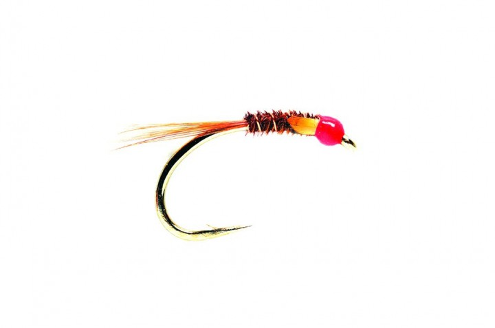 Fulling Mill Nymphe - Diawl Bach Deep Water Red Hot Head