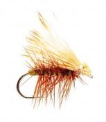 Fulling Mill Trockenfliege - Elkwing Caddis Olive