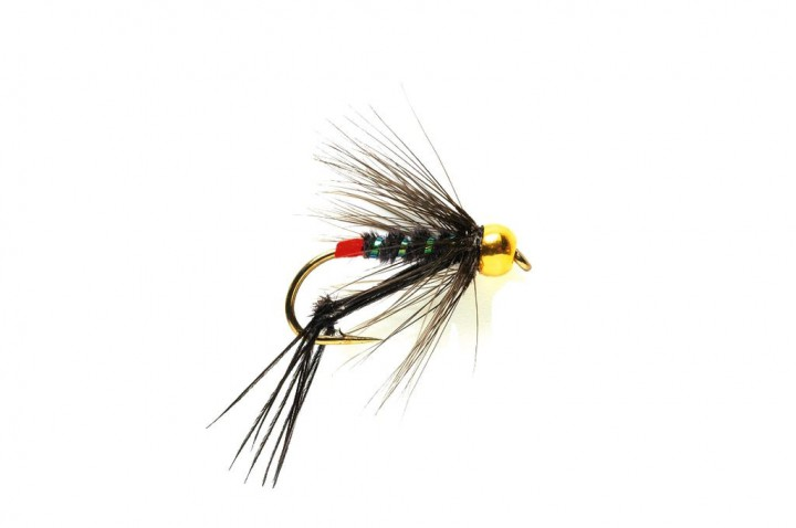 Fulling Mill Nymphe - Hopper Black (Gold Nugget)