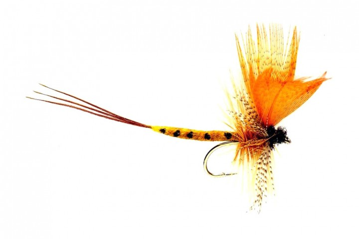 Fulling Mill Trockenfliege - Mayfly Thomas Yellow